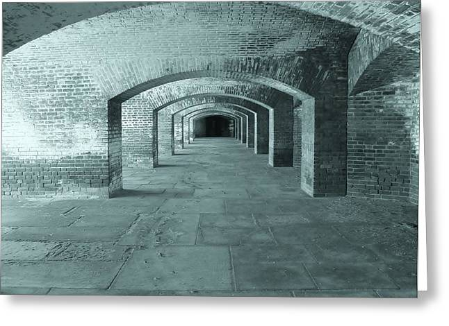 Fort Jefferson Greeting Card by Janice Bennett