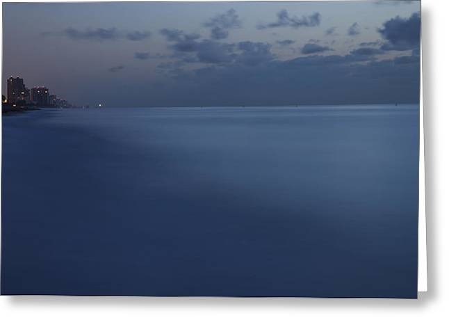 Ocean Art Photography Greeting Cards - Fort Lauderdale Beach Greeting Card by Brian Goebel