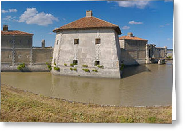 Lupin Greeting Cards - Fort Lupin, Saint-nazaire-sur-charente Greeting Card by Panoramic Images
