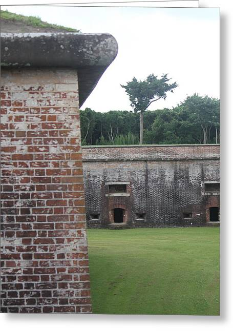 Civil War Battle Site Greeting Cards - Fort Macon 9 Greeting Card by Cathy Lindsey