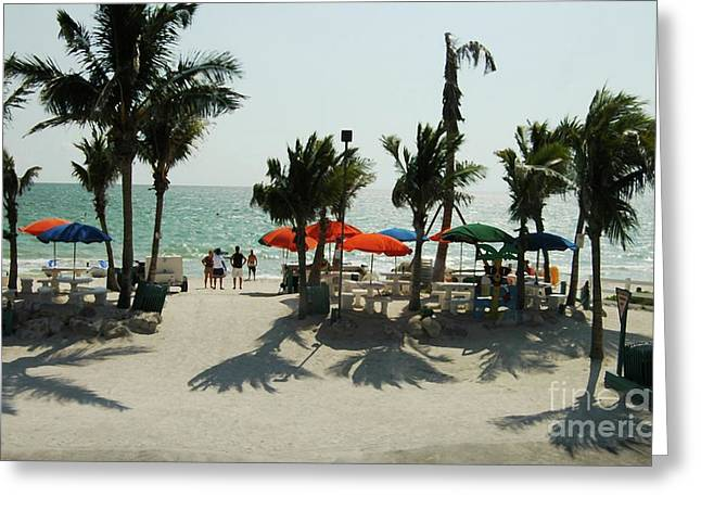 Fort Meyers Greeting Cards - Fort Meyers Beach Greeting Card by Kathleen Struckle