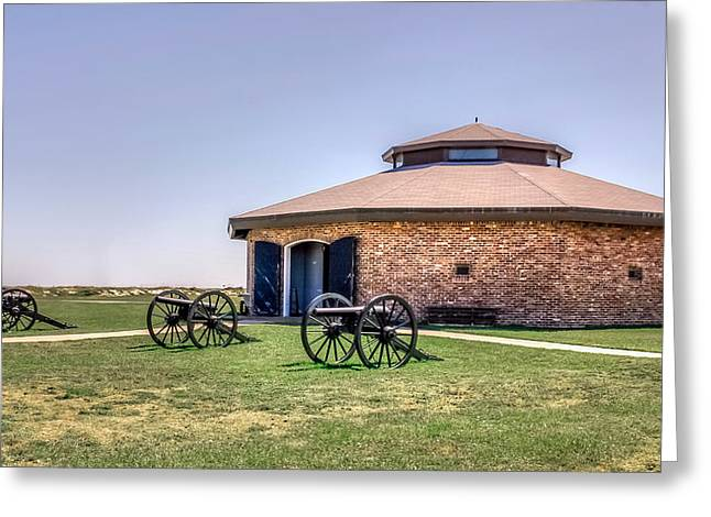 Confederacy Digital Art Greeting Cards - Fort Morgan State Park Greeting Card by Rob Sellers