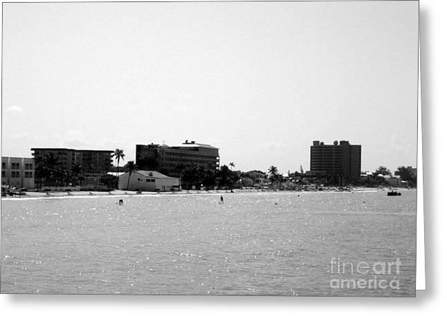 Nice Greeting Cards - Fort Myers Beach.Florida Greeting Card by Oksana Semenchenko