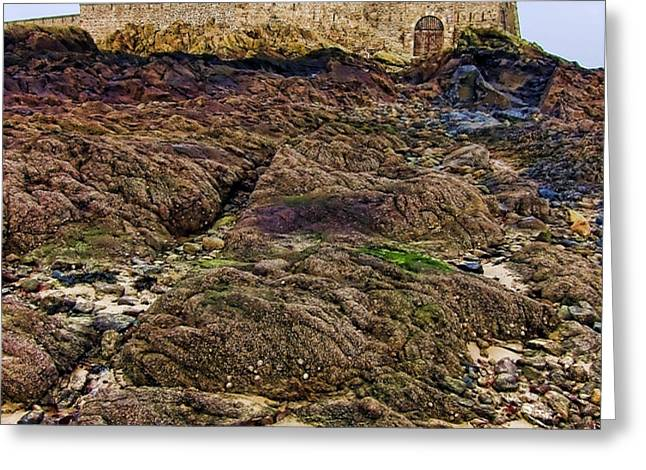 Fort National in Saint Malo Brittany Greeting Card by Olivier Le Queinec