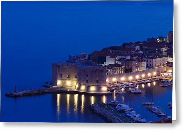 Dubrovnik Greeting Cards - Fort On The Coast, St Johns Fort Greeting Card by Panoramic Images