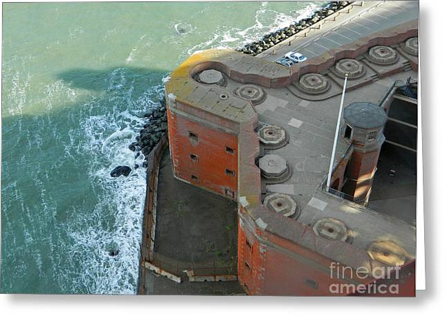 Civil War Site Digital Greeting Cards - Fort Point - San Francisco Greeting Card by Emmy Marie Vickers