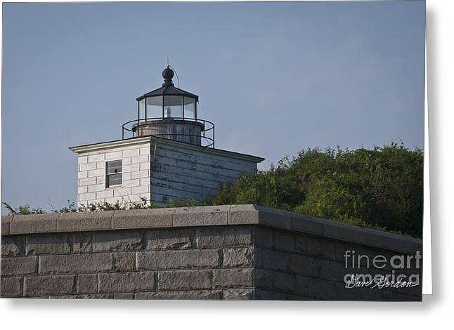 Civil War Site Photographs Greeting Cards - Fort Taber Lighthouse Greeting Card by David Gordon