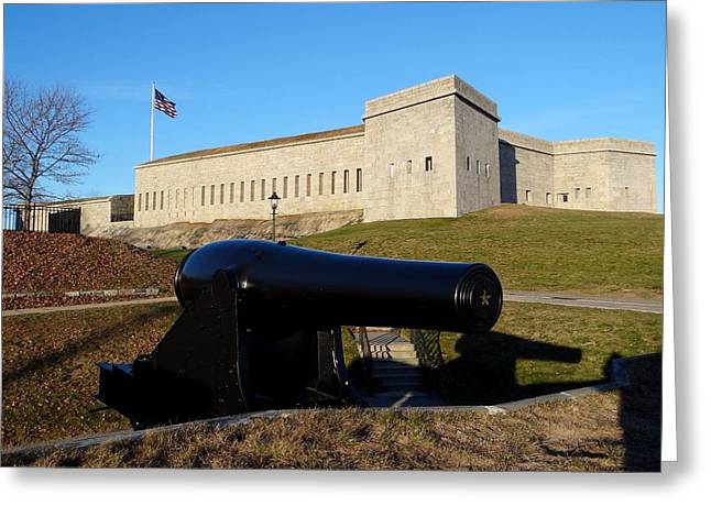 Fort Trumbull Greeting Card by Keith Stokes