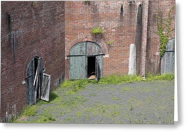 Fort Greeting Cards - Fort Washington Park - 121235 Greeting Card by DC Photographer