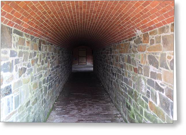 Fort Greeting Cards - Fort Washington Park - 121239 Greeting Card by DC Photographer