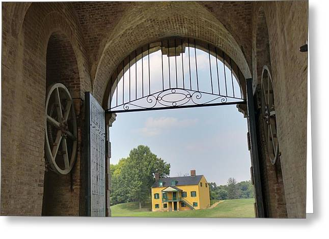 Fort Washington Park - 12126 Greeting Card by DC Photographer