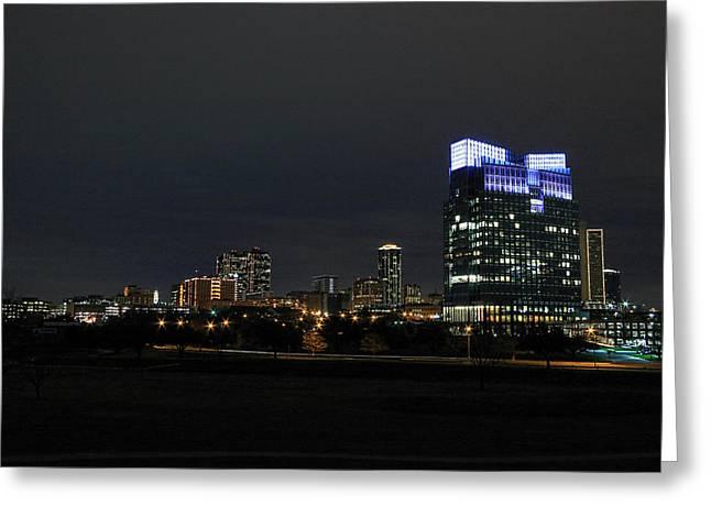Metroplex Greeting Cards - Fort Worth Chesapeake Plaza Greeting Card by Jonathan Davison