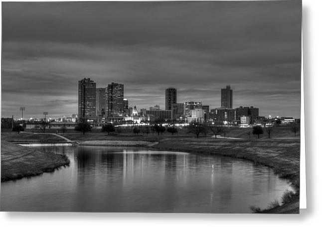 Fort River Greeting Cards - Fort Worth Greeting Card by Jonathan Davison