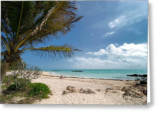 Uncrowded Greeting Cards - Fort Zachary Taylor Beach Greeting Card by Amy Cicconi