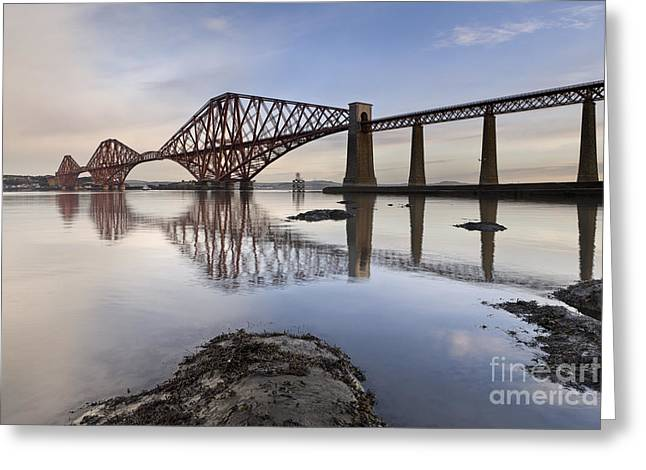 Fife Greeting Cards - Forth Bridge Greeting Card by Rod McLean