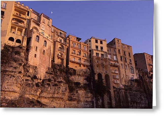 Amalfi Sunset Greeting Cards - Fortress City Greeting Card by Jason Denning