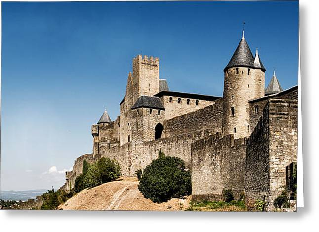 Languedoc Greeting Cards - Fortress on a Hill Greeting Card by Weston Westmoreland