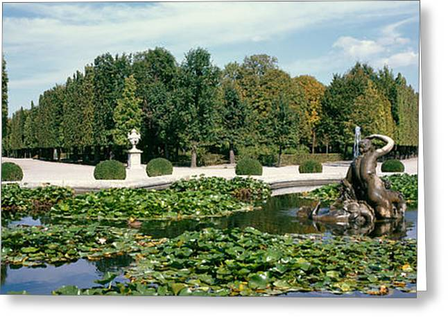 Old Vienna Greeting Cards - Fountain At A Palace, Schonbrunn Greeting Card by Panoramic Images