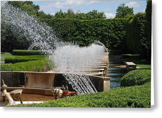Beautiful Greeting Cards - Fountains Greeting Card by Jennifer Lyon