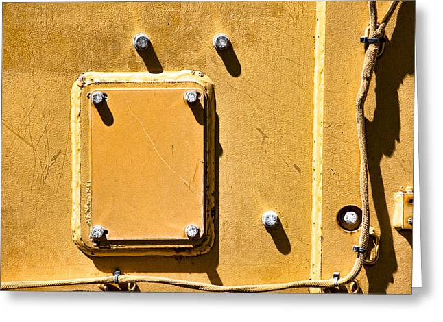 Four Outside  Greeting Card by Fran Riley