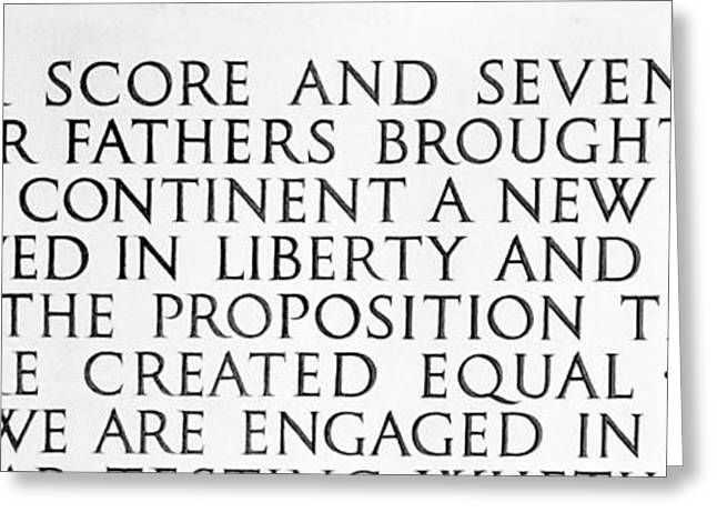 Four Score Greeting Card by Greg Fortier