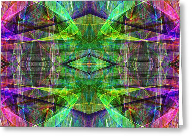 Fourth Dimension ap130511-22 Greeting Card by Wingsdomain Art and Photography