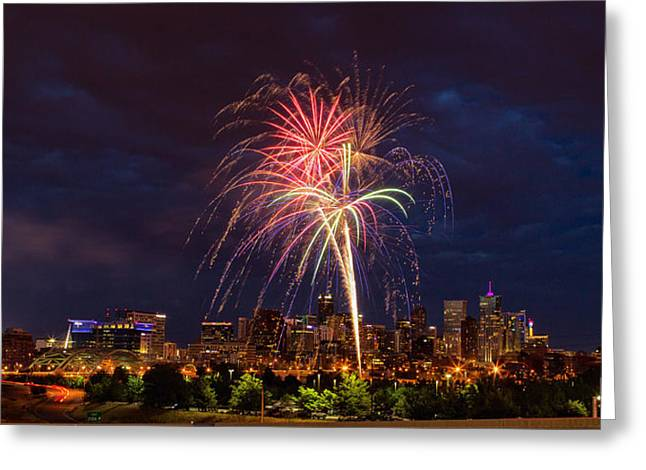 4th July Photographs Greeting Cards - Fourth of July Greeting Card by John K Sampson