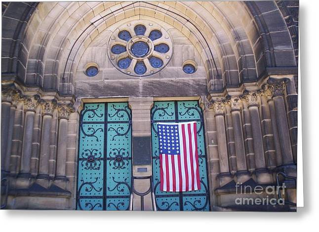 Fourth Of July  Greeting Card by Michael Krek