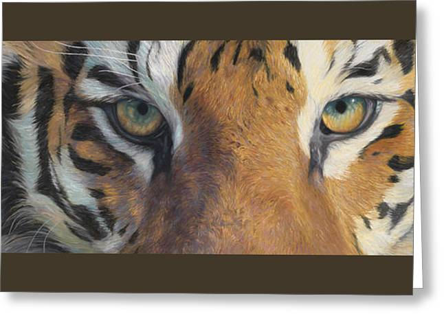 Tiger Greeting Cards - Forever Wild Greeting Card by Lucie Bilodeau