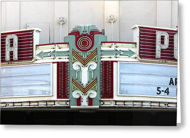 Downtown Pomona Greeting Cards - Fox Theater - Pomona - 09 Greeting Card by Gregory Dyer