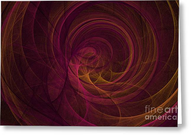 Fractal 1 Greeting Card by Alys Caviness-Gober
