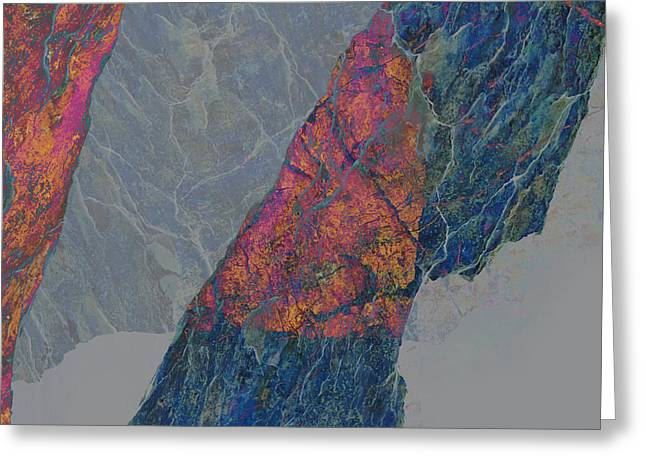 Fracture XXX Greeting Card by Paul Davenport