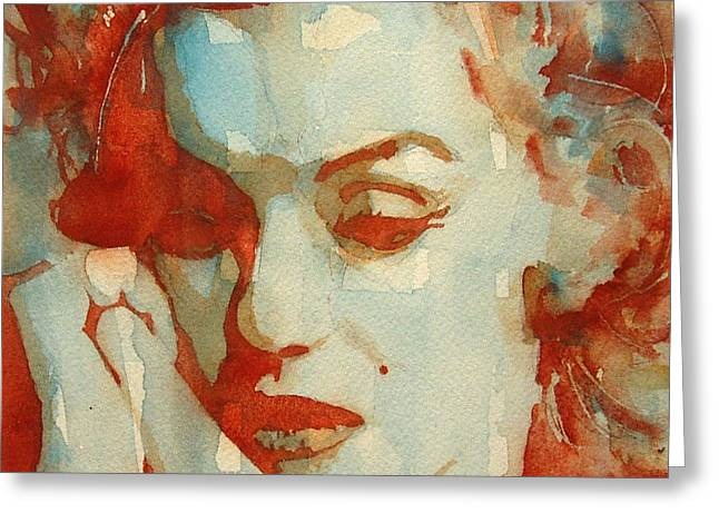 Marilyn Greeting Cards - Fragile Greeting Card by Paul Lovering