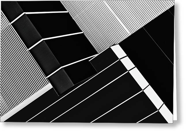 Fragile Symmetry Greeting Card by Paulo Abrantes