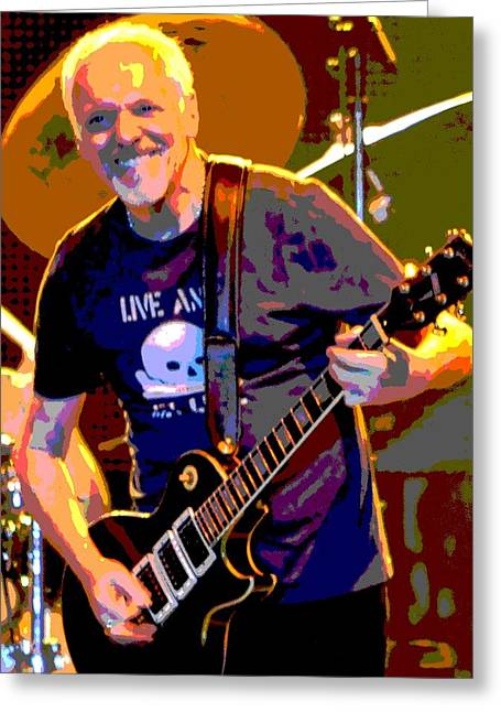 Player Greeting Cards - Frampton Greeting Card by Deena Stoddard
