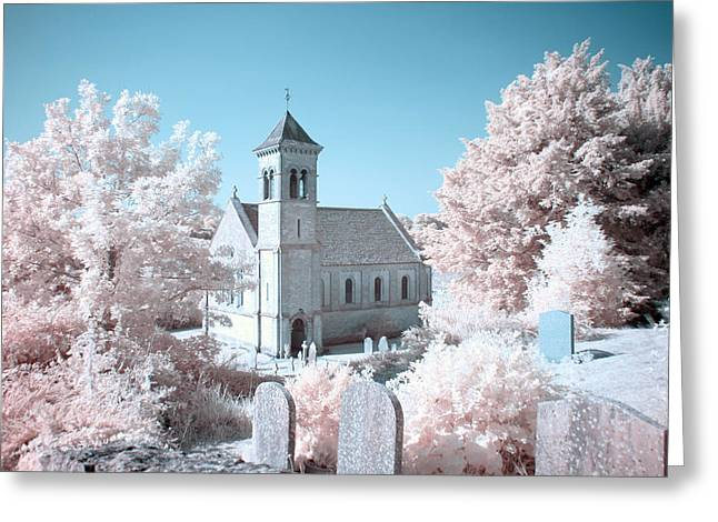 Daily Mail Greeting Cards - Frampton Mansell Church Greeting Card by Catherine Perkinton