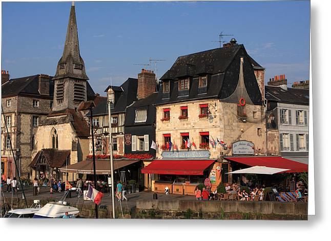 Small Town Life Greeting Cards - France Greeting Card by Aidan Moran