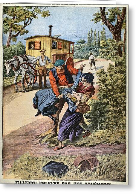 France Gypsies, 1890s Greeting Card by Granger