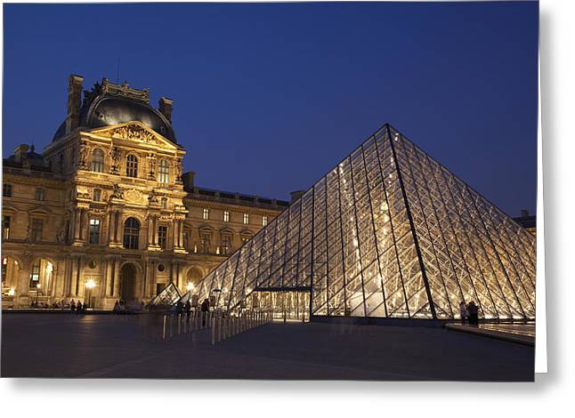 French Open Greeting Cards - France, Louvre Museum Paris Greeting Card by Mark Thomas