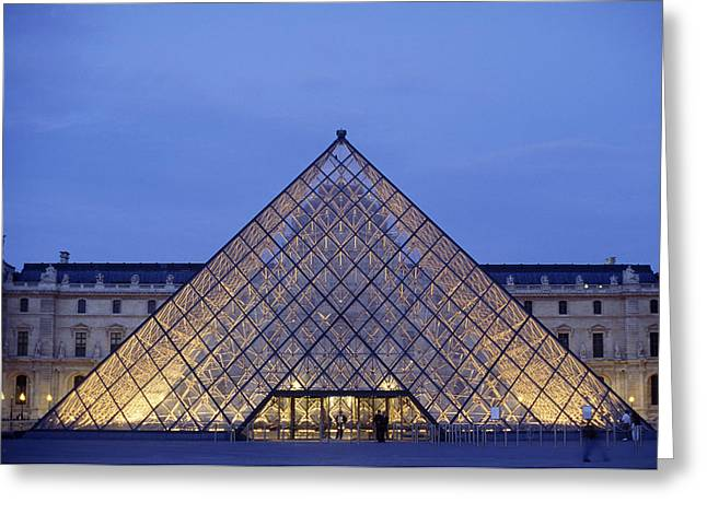 Individualism Greeting Cards - France, Paris, Louvre Museum © Marvin Greeting Card by Tips Images