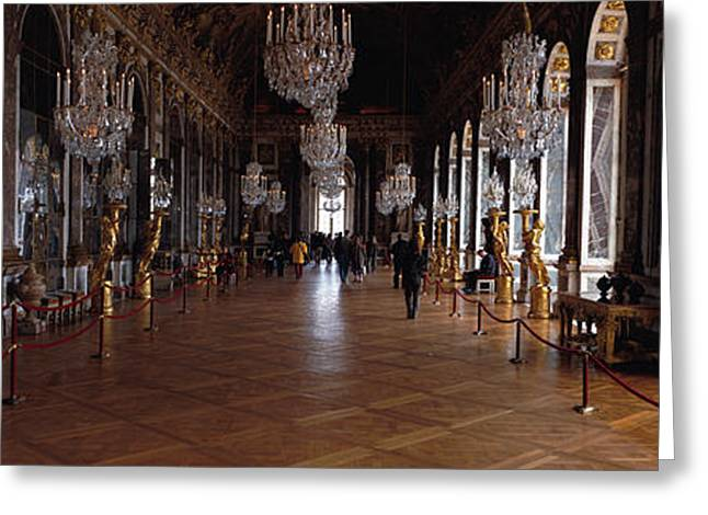Decor Photography Photographs Greeting Cards - France, Paris, Versailles Greeting Card by Panoramic Images