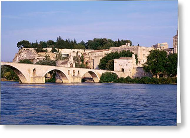 Vaucluse Greeting Cards - France, Vaucluse, Avignon, Palais Des Greeting Card by Panoramic Images