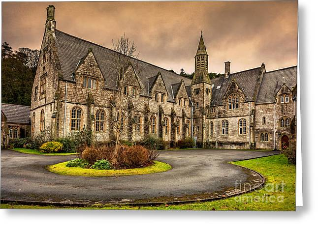 Franciscans Greeting Cards - Franciscan Friary Greeting Card by Adrian Evans