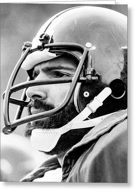 Franco Harris Greeting Cards - Franco Harris  Greeting Card by Jerry Coli