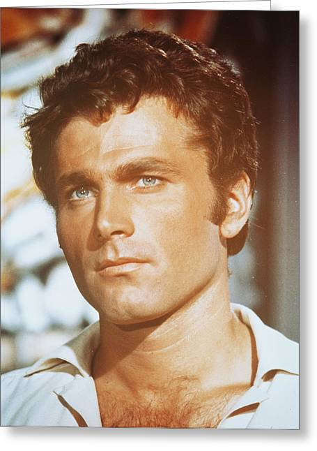 Nero Greeting Cards - Franco Nero Greeting Card by Silver Screen