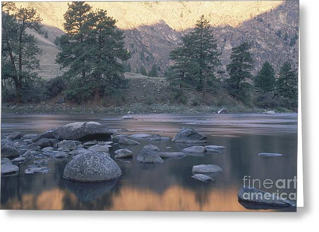 Frank Church River Of No Return Greeting Card by William H. Mullins