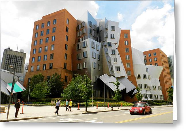 Mit Greeting Cards - Frank Gehry - MIT Greeting Card by Nomad Art And  Design