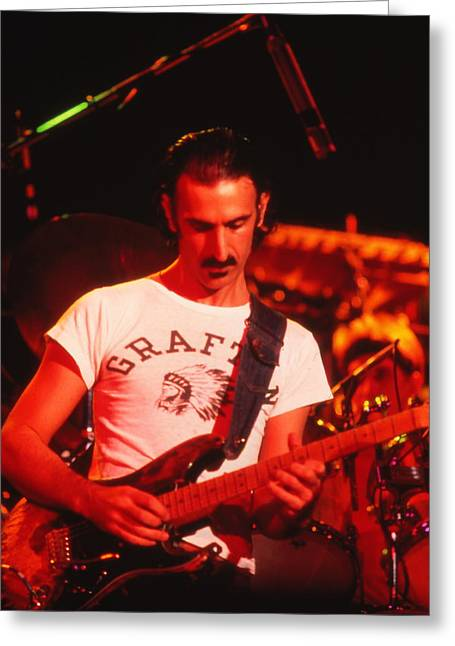 Censorship Photographs Greeting Cards - Thing Fish Zappa Greeting Card by Kenneth Summers