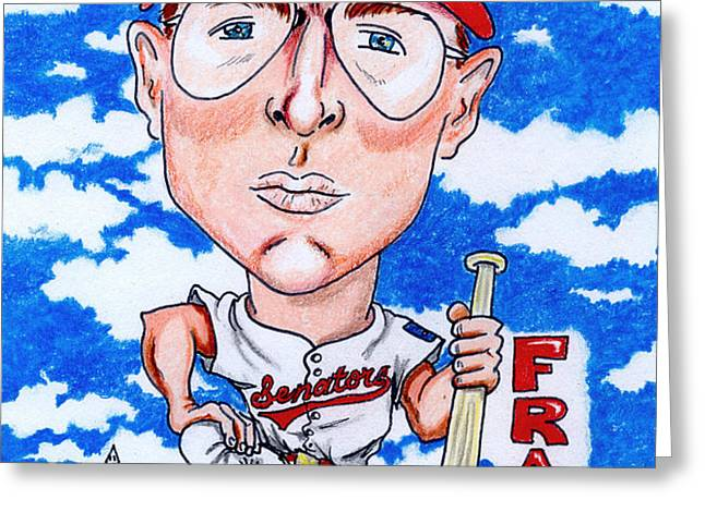 Frank_Howard Greeting Card by Paul Nichols