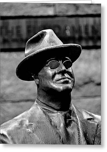 Franklin Delano Greeting Cards - Franklin Delano Roosevelt Memorial Greeting Card by Brendan Reals